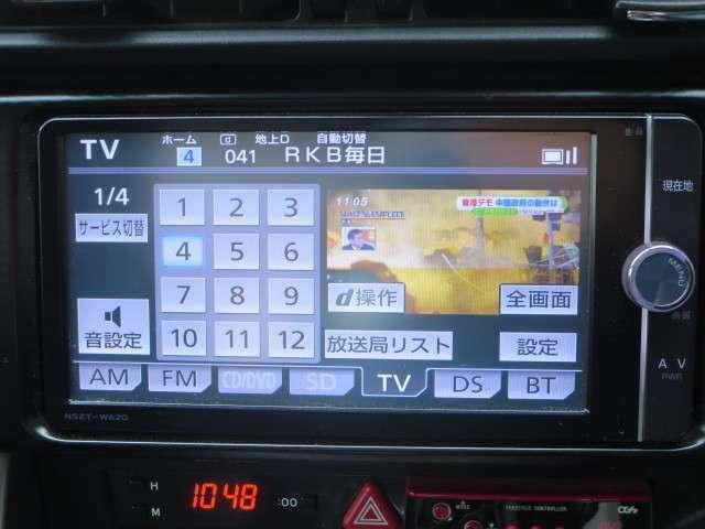 GTリミテッド 6速MT メモリーナビ/フルセグ 純正AW(12枚目)