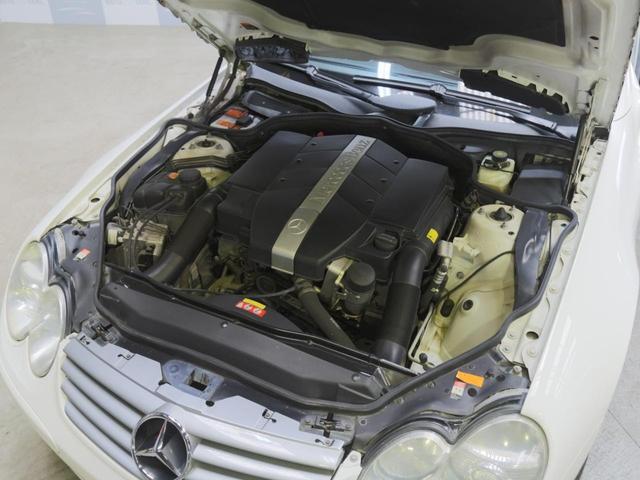 メルセデス・ベンツ M・ベンツ SL350 禁煙 黒革 AMG18AW 電動オープン 左H