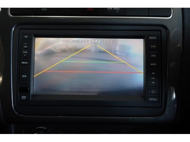 リアビューカメラでバック駐車も一発OK!車の後ろの状況がナビ画面で確認できるから、バックでの駐車が苦手な方でも安心です