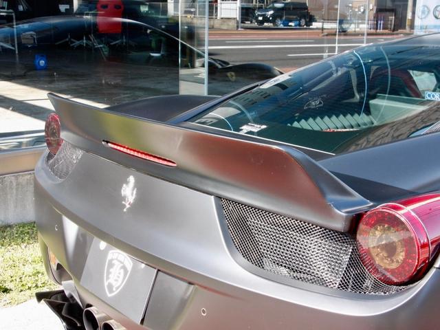フェラーリ フェラーリ 458イタリア F1 DCT 可変 ステルスラッピング LBスポイラー AW