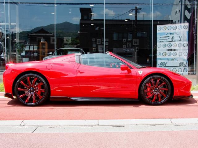 フェラーリ フェラーリ 458スパイダー F1DCT 左H サビーニAW Bカメラ オートベローチェ