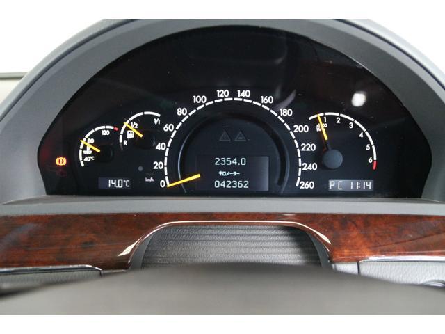 メルセデス・ベンツ M・ベンツ S500L 本革シート 電動ガラスサンルーフ 純正DVDナビ