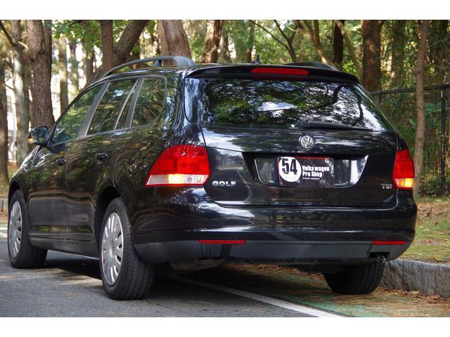 フォルクスワーゲン VW ゴルフヴァリアント TSI トレンドライン 社外ナビ 3ヶ月保証付