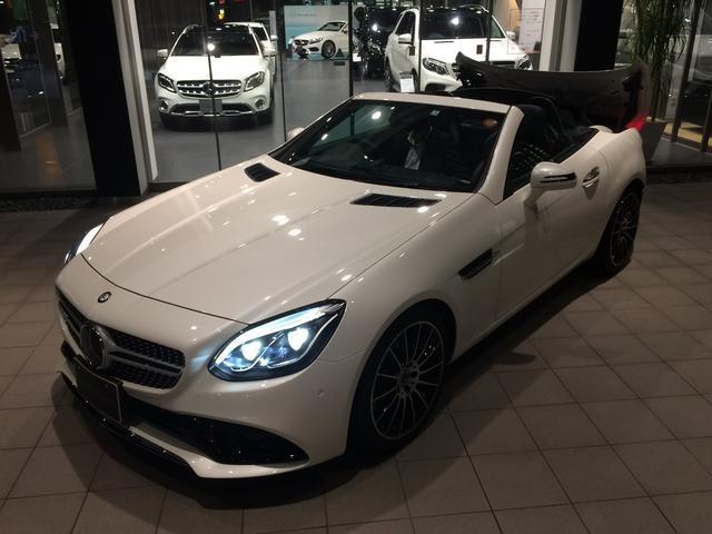 メルセデス・ベンツ M・ベンツ SLC200スポーツ ダイヤモンドホワイト 新車保証継承