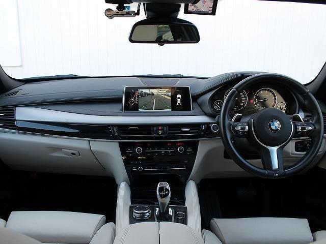 BMW BMW X6 xDrive 50i Mスポーツ 20AW 白革 サンルーフ