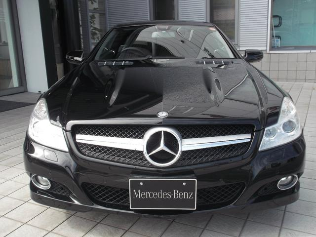 メルセデス・ベンツ M・ベンツ SL350 右H ブラックレザーインテリア