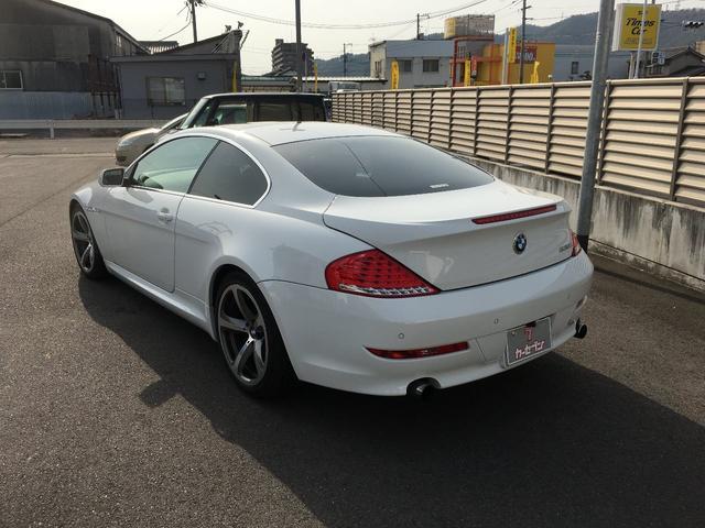 BMW BMW 630i 純正ナビ バックカメラ 19インチAW