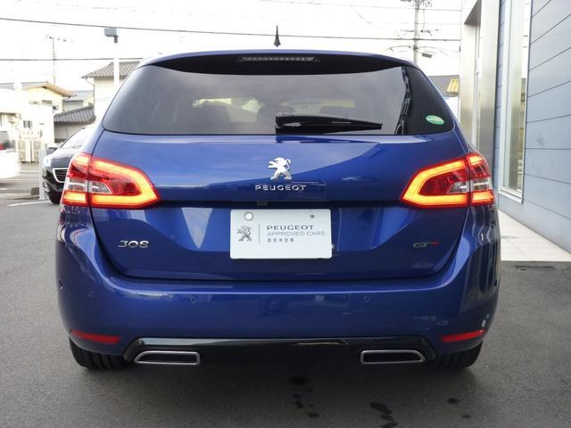 SW GT BlueHDi Pガラスルーフ 新車保証継承(3枚目)