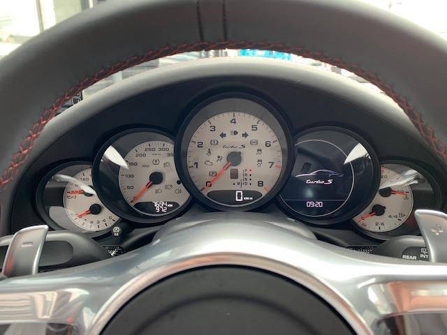 ターボS PDK シートヒーター ホワイトメーターパネル(17枚目)