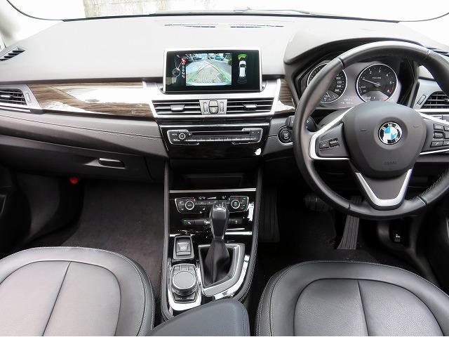 218d xDriveアクティブツアラーラグジュアリ 黒革(14枚目)