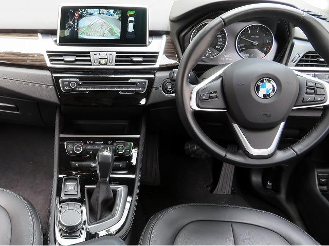 218d xDriveアクティブツアラーラグジュアリ 黒革(15枚目)