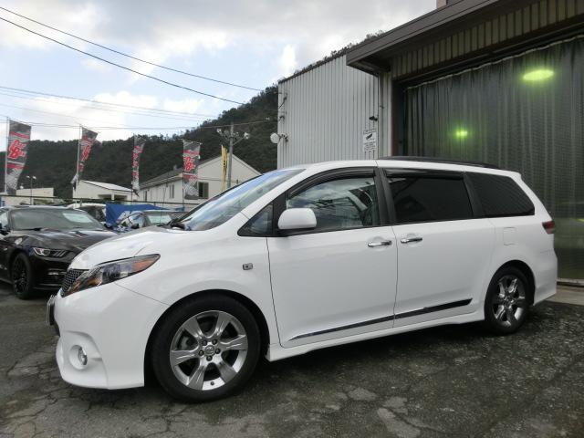 米国トヨタ シエナ SE 3.5L 新車並行 当社販売 顧客下取り SR ナビ