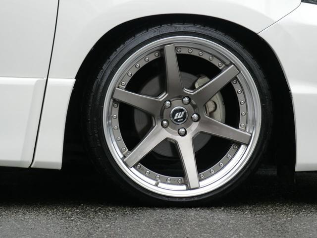 2.4Z 後期型 純正8型ナビ リヤ11型モニター 車高調(11枚目)