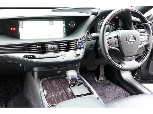 LS500h エグゼクティブ 4WD ワンオーナー 禁煙車 マークレビンソン リヤ―エンターテイメントS(21枚目)