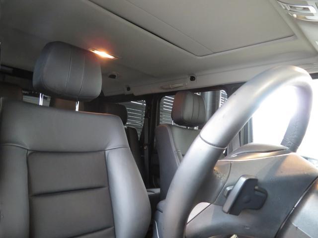 メルセデス・ベンツ M・ベンツ G350 ブルーテック スライディングルーフ 本革シート