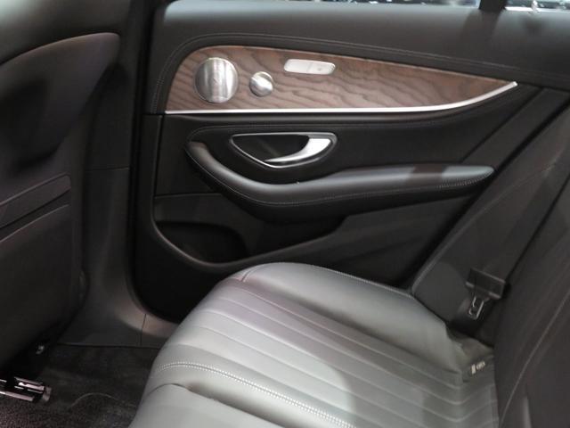 E450 4マチック エクスクルーシブ 展示車両(17枚目)
