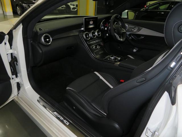 C63 Sクーペ 前期モデル デモカー サンルーフ 本革(9枚目)