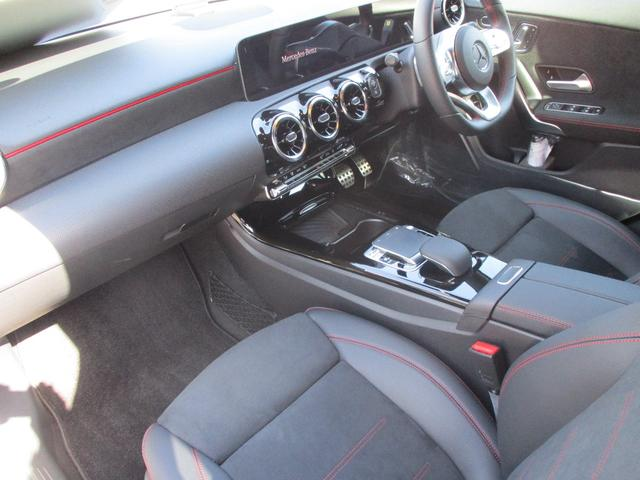 A180 スタイルセダン AMGライン デモカー レーダーセーフ HDDナビ AMGライン LEDライト メモリー機能付きフルパワーシート バックモニター 初回車検時まで走行距離無制限保証(10枚目)