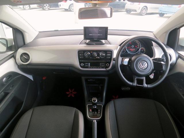 フォルクスワーゲン VW アップ! ハイ アップ! SDナビ フルセグTV ETC クルコン