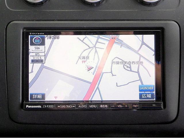 グレンツェン 限定500台 ストラーダSDナビ フルセグTV Bカメラ ETC クルコン ドライブレコーダー 本革巻きステアリング キセノンヘッドライト フォグライト 純正16アルミホイール ウインカードアミラー(14枚目)