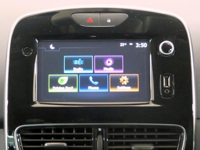 ルノースポール トロフィー 純正オーディオ USB Bluetooth クルーズコントロール 本革巻きステアリング パドルシフト LEDヘッドライト LEDフォグライト オートライト リアコーナーセンサー アイドリングストップ(8枚目)