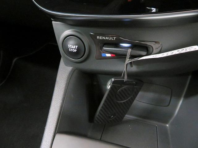 ルノースポール トロフィー 純正オーディオ USB Bluetooth クルーズコントロール 本革巻きステアリング パドルシフト LEDヘッドライト LEDフォグライト オートライト リアコーナーセンサー アイドリングストップ(10枚目)