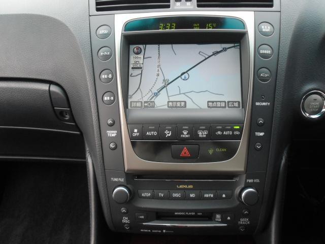 GS430 黒皮 HDDナビ サンルーフ コンビハンドル(15枚目)