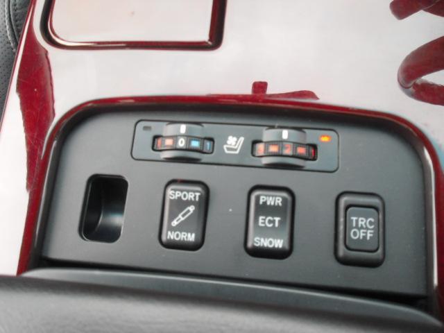 GS430 黒皮 HDDナビ サンルーフ コンビハンドル(16枚目)