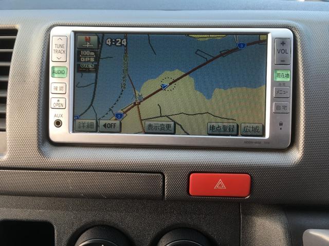 トヨタ レジアスエースバン ロングスーパーGL3.0DT-BナビBカメラ両側スライドドア
