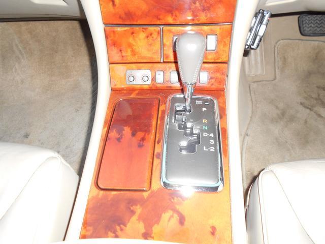トヨタ セルシオ C仕様 Fパッケージベージュ革シートHIDライト社外20AW