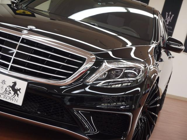 メルセデス・ベンツ M・ベンツ S550ロング S63仕様 レグザーニ22incAW