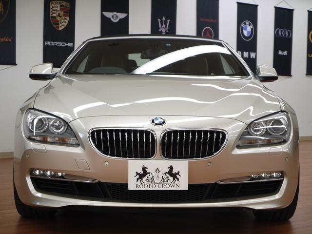 BMW BMW 640iカブリオレ コンフォートPKG 社外22インチAW
