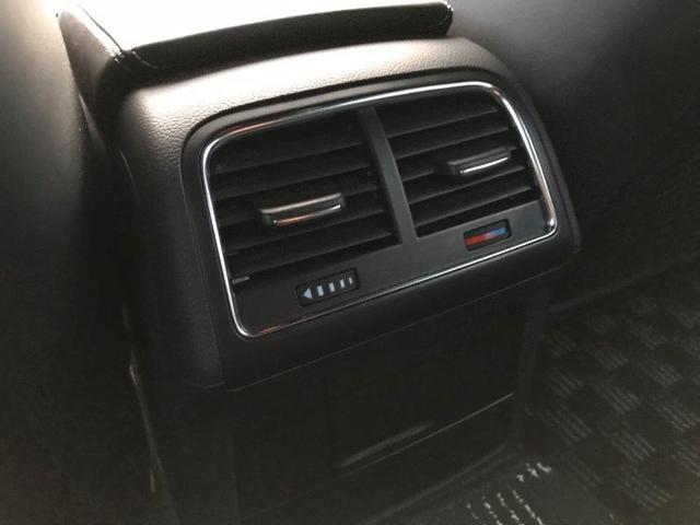 後部座席エアコン