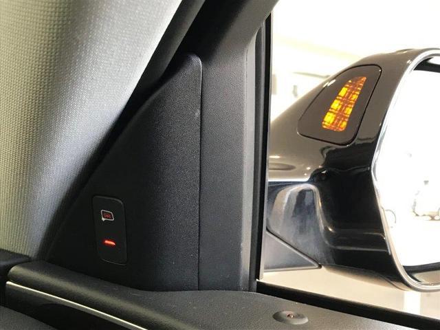 サイドアシスト。進路変更時に後方から接近する車両をLEDの光でドライバーに知らせます。