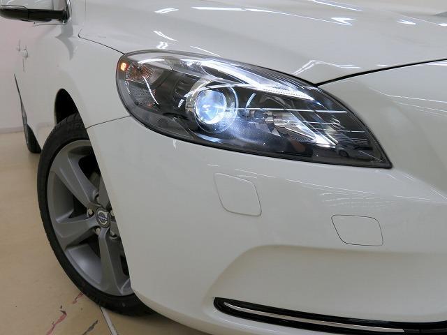 ボルボ ボルボ V40 T4 SE セーフティPKG 新品タイヤ4本 純正HDDナビ