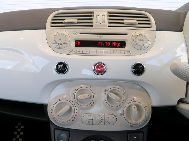 フィアット フィアット 500 1.2 ポップ アイドリングストップ 純正CDデッキ ETC