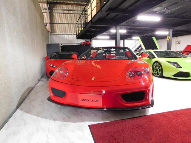 「フェラーリ」「フェラーリ 360」「オープンカー」「広島県」の中古車4