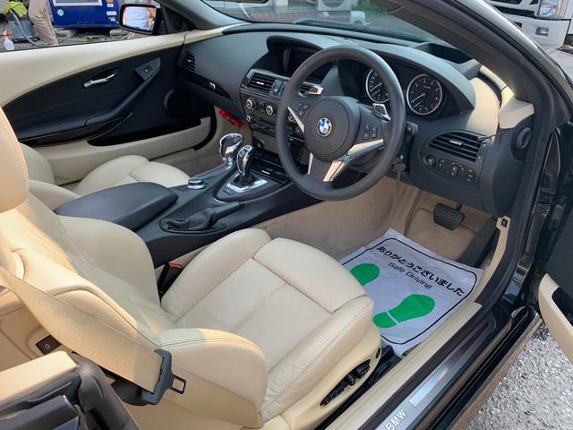 650iカブリオレ 全国対応半年保証付き 車高調 レザー(18枚目)