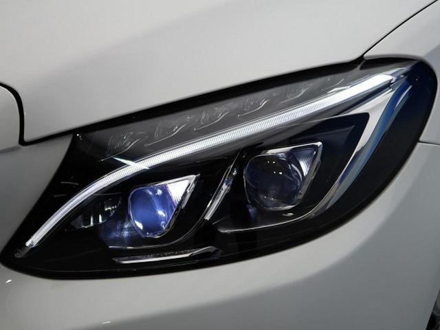 ●メルセデスLEDヘッドライト『長寿命かつ視認性に優れたLEDヘッドライト。より遠く、より明るいLEDは運転者のサポートに優れております♪』