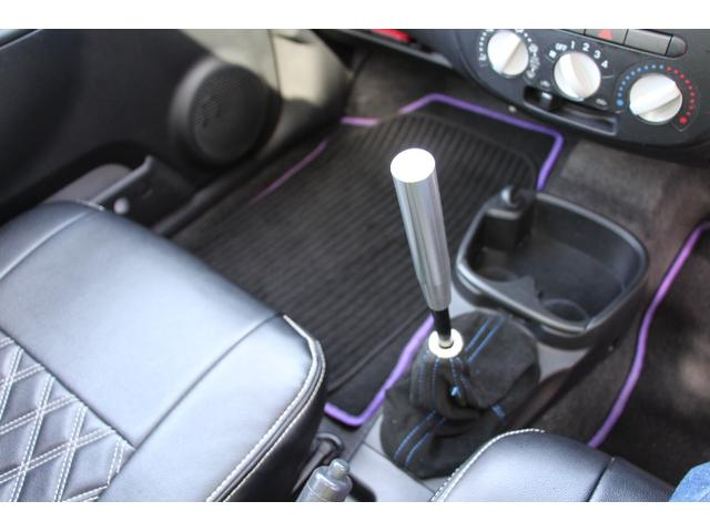 D 車高調 Rアクスル 社外サンルーフ エアロ 社外テールランプ LEDライト 追加メーター シートカバー 社外ナビ 地デジ ウインカーミラー(18枚目)