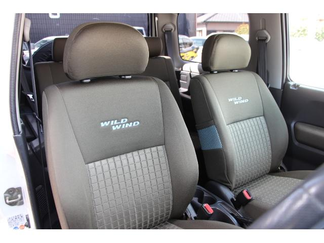 ワイルドウインド 4WDターボ 社外FRバンパー リフトアップ 社外マフラー 社外テールランプ シートヒーター(12枚目)