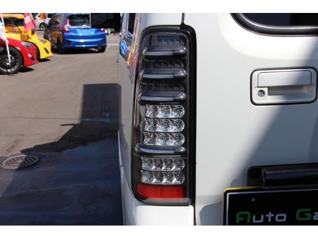 ワイルドウインド 4WDターボ 社外FRバンパー リフトアップ 社外マフラー 社外テールランプ シートヒーター(20枚目)