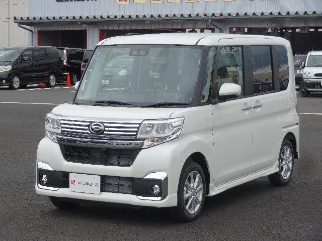 ダイハツ 4WD カスタムX SAIII 届出済未使用車 新品ナビ付