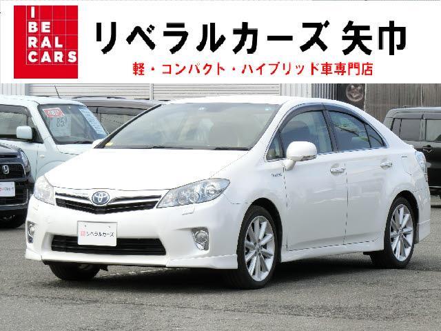 トヨタ SAI G AS-PKG 純正フルセグHDDナビ バックカメ