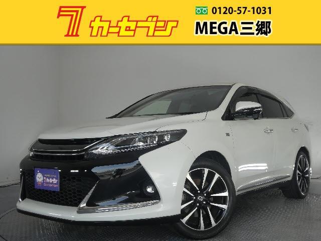 トヨタ ハリアー エレガンス G's 1オーナー フルセグメモリーナビ LED