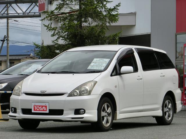 トヨタ ウィッシュ X Sパッケージ 4WD ブラックインパネ