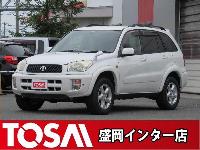 トヨタ RAV4 J J ワイドスポーツ 4WD 5MT 社外DVDナビ