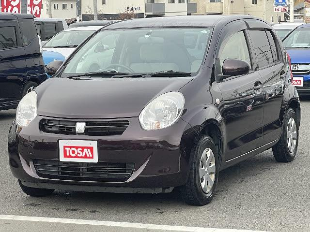 トヨタ パッソ X ユルリ ETC スマートキー キーレス 盗難防止装置 ベンチシート