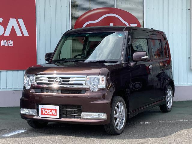 トヨタ カスタム G 4WD パナソニック製SDナビ CD/DVD再生 B-T接続 フルセグ アイドリングストップ ETC HIDライト フロントフォグライト スマートキー 純正アルミ