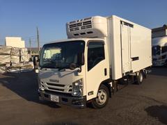 エルフトラック冷蔵・冷凍車 3t超ロング冷蔵冷凍車 格納ゲート付